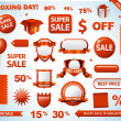 Sale tags collection — Stock Photo #14250319