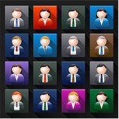 Business avatar — Stock Vector