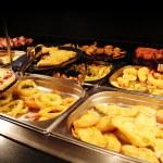Oriental buffet — Stock Photo