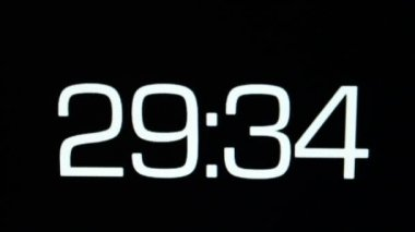 Countdown — Stock Video