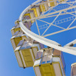 Underneath a ferris wheel — Foto Stock