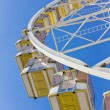Underneath a ferris wheel - Stock Photo