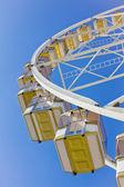 Unter einem riesenrad — Stockfoto