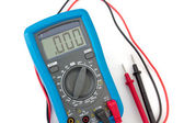 Multimeter with probes — Stock Photo