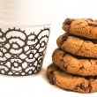 Cookie with cooffe — Stock Photo #29941203