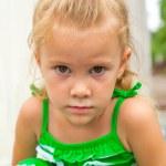 Sad little girl — Stock Photo #12692757