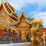 Beautiful temple in Chiang Mai — Stock Photo #12692767