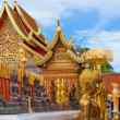 Beautiful temple in Chiang Mai — Stock Photo