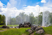 Geyser in a national park in Thailand — Stock Photo