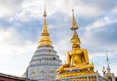 Beautiful temple in Chiang Mai — Stock Photo