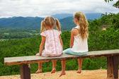 Two sad sisters — Stock Photo