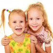 Two happy sisters — Stock Photo #14833211