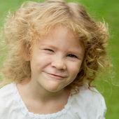 Portrait of a happy girl — Stock Photo
