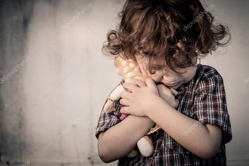 Image result for sad faces of a young boy and girl