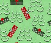 矢量圣诞图无缝 — 图库矢量图片