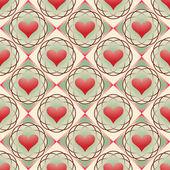 Abstract vectorillustratie van valentijn — Stockvector