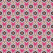 Vector seamless pattern with abstract figures — Stock Vector