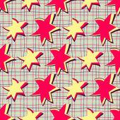 Abstract vectorillustratie met sterren — Stockvector