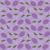 абстрактный бесшовный стилизованные роз — Cтоковый вектор