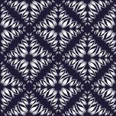 Vector illustration of abstract petals — Stock Vector