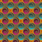 Illustration vectorielle de formes abstraites — Vecteur