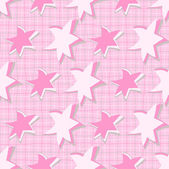 Yıldız ile tasarlamak vektör çizim — Stok Vektör