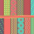 Abstract vector set of paper for scrapbook — Stockvektor #34859781