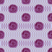 Abstract vector illustration with roses — Vetorial Stock
