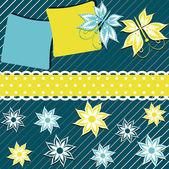абстрактные векторные иллюстрации поздравительных открыток — Cтоковый вектор