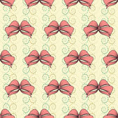 Abstract vector illustration with bows — Stock vektor