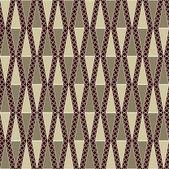 Illustration vectorielle abstraite continue avec des formes géométriques — Vecteur