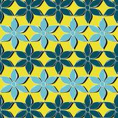 абстрактные векторные иллюстрации и цветочные — Cтоковый вектор