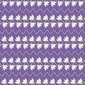 Floreale illustrazione vettoriale astratta — Vettoriale Stock