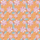 Ilustração em vetor floral abstrato — Vetor de Stock