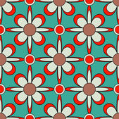 Seamless abstract floral vector illustration background — Stockvektor