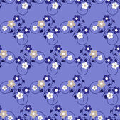 Fondo abstracto floral vector illustration — Vector de stock