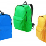 Three Backpacks — Stock Photo