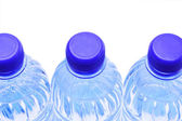 Close Up of Water Bottles — 图库照片