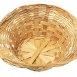 Stock Photo: Empty Wicker Basket