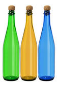 Three Glass Bottles — Stock Photo