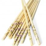 Bundle of Chinese chopsticks — Stock Photo #6083367