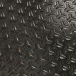 Black Metallic Surface in 3D — Stock Photo