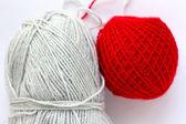 Two tangle wool — Stok fotoğraf