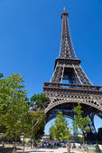 At Eiffel Tower — Stock Photo