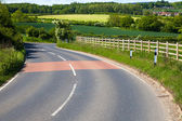 Beautiful country road — Stock Photo