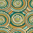 图库矢量图片: Abstract circles seamless pattern