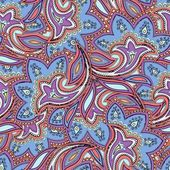 Hand drawn seamless paisley pattern — Vector de stock