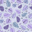 Abstract leaf seamless pattern — Stock Photo #19356547