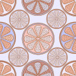 Abstract citrus seamless pattern - Stock Photo