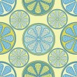 Abstract citrus seamless pattern - Stock Vector